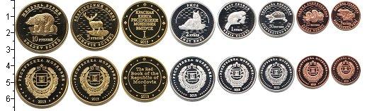 Изображение Наборы монет Россия Мордовия Мордовия-2013 0  Proof-