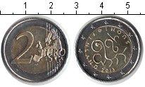 Изображение Мелочь Европа Финляндия 2 евро 2013 Биметалл UNC-