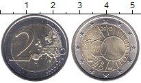 Изображение Мелочь Европа Бельгия 2 евро 2013 Биметалл UNC-