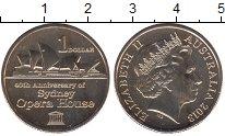 Изображение Мелочь Австралия 1 доллар 2013  UNC- Елизавета II. Сидней