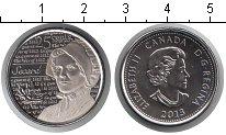 Изображение Мелочь Канада 25 центов 2013 Медно-никель UNC Лора Секорд