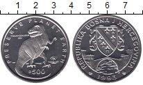Изображение Мелочь Европа Босния и Герцеговина 500 динар 1993 Медно-никель UNC-