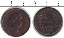 Изображение Монеты Малайзия Саравак 1 цент 1937 Медь XF