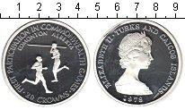 Изображение Монеты Великобритания Теркc и Кайкос 20 крон 1978 Серебро Proof