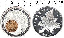 Изображение Мелочь Африка Либерия 1 доллар 2002 Посеребрение Proof-