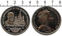 Изображение Мелочь Виргинские острова 1 доллар 2013 Медно-никель UNC- Елизавета II. Никола