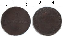 Изображение Монеты Тоскана 3 кватрино 1846 Медь XF