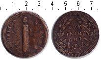 Изображение Монеты Италия 2 байоччи 0 Медь VF Repubblica Romana