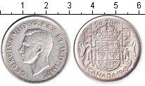 Изображение Монеты Канада 50 центов 1943 Серебро XF