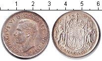 Изображение Монеты Северная Америка Канада 50 центов 1943 Серебро XF