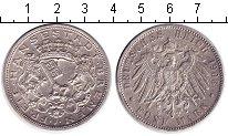 Изображение Монеты Германия Бремен 5 марок 1906 Серебро XF