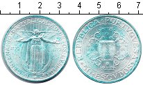 Изображение Монеты Европа Португалия 50 эскудо 1972 Серебро XF