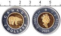 Изображение Монеты Северная Америка Канада 2 доллара 2003 Биметалл Proof-