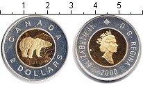 Изображение Монеты Северная Америка Канада 2 доллара 2000 Биметалл Proof-