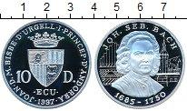 Изображение Монеты Европа Андорра 10 динерс 1997 Серебро Proof-
