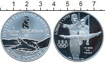 Изображение Монеты США 1 доллар 1995 Серебро Proof-