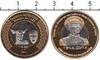 Изображение Мелочь Конго 1 франк 2014 Биметалл UNC-