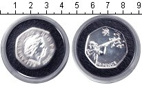 Изображение Монеты Европа Великобритания 50 пенсов 2011 Серебро UNC-