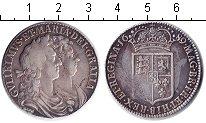 Изображение Монеты Европа Великобритания 1/2 кроны 1689 Серебро
