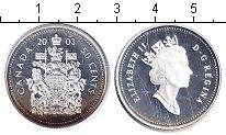 Изображение Монеты Канада 50 центов 2003 Серебро Proof-