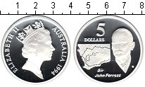 Изображение Монеты Австралия 5 долларов 1994 Серебро Proof-