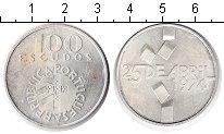 Изображение Монеты Европа Португалия 100 эскудо 1974  XF