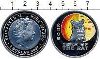 Изображение Монеты Новая Зеландия Ниуэ 1 доллар 2007 Серебро Proof