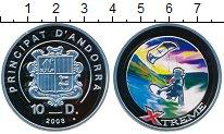 Изображение Монеты Европа Андорра 10 динерс 2008 Серебро Proof-