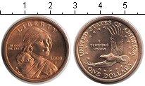Изображение Мелочь Северная Америка США 1 доллар 2000  XF-