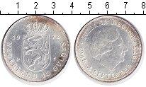 Изображение Монеты Нидерланды 10 гульденов 1973 Серебро XF