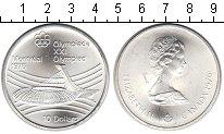 Изображение Монеты Канада 10 долларов 1976 Серебро UNC-