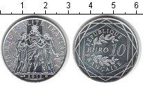 Изображение Мелочь Европа Франция 10 евро 2012 Серебро UNC