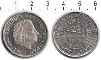 Изображение Мелочь Нидерланды 2 1/2 гульдена 1979 Медно-никель UNC-