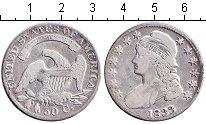Изображение Монеты США 50 центов 1833 Серебро VF