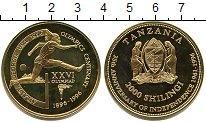 Изображение Мелочь Африка Танзания 2000 шиллингов 1996  UNC-