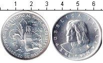 Изображение Монеты Европа Италия 500 лир 1992 Серебро UNC