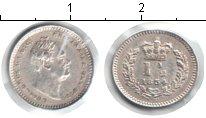 Изображение Монеты Великобритания 1 1/2 пенни 1834 Серебро XF Георг IV