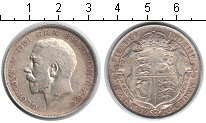 Изображение Монеты Европа Великобритания 1/2 кроны 1920 Серебро XF