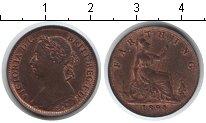 Изображение Монеты Европа Великобритания 1 фартинг 1894 Медь XF