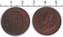 Изображение Монеты Великобритания Остров Джерси 1/12 шиллинга 1933 Медь XF