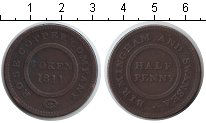Изображение Монеты Европа Великобритания 1/2 пенни 1811 Медь