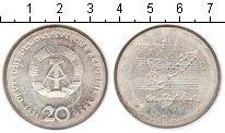 Изображение Монеты ГДР 20 марок 1975 Серебро UNC- Бах