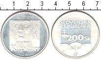 Изображение Монеты Европа Словакия 200 крон 2006 Серебро Proof-