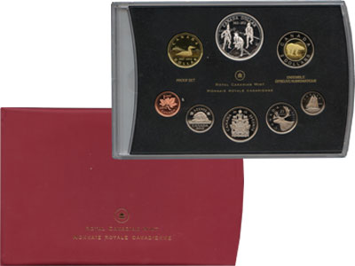 Изображение Подарочные монеты Северная Америка Канада Выпуск монет 2012 в качестве Пруф 2012  Proof