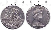 Изображение Мелочь Новая Зеландия 50 центов 1979 Медно-никель UNC