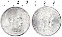 Изображение Монеты Чехия Чехословакия 100 крон 1974 Серебро UNC