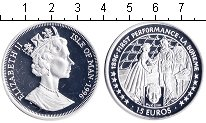 Изображение Монеты Остров Мэн 15 евро 1996 Серебро Proof-