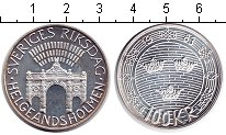 Изображение Монеты Швеция 100 крон 1983 Серебро Proof-