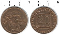 Изображение Монеты Австрия 20 шиллингов 1982  UNC-
