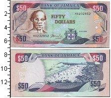 Изображение Банкноты Ямайка 50 долларов 2004  UNC